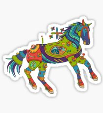 Horse, from the AlphaPod collection Sticker