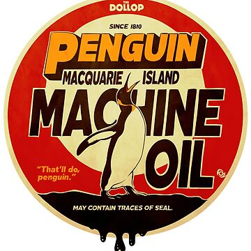 The Dollop - Penguin Oil by MrFoz