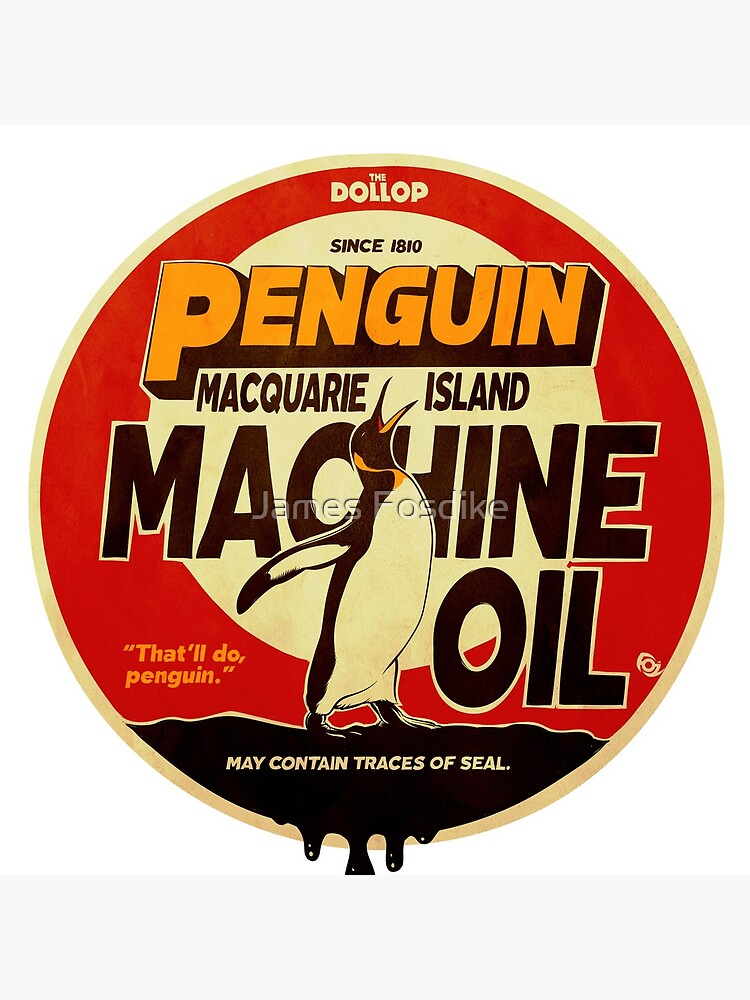 The Dollop - Penguin Oil by MrFoz