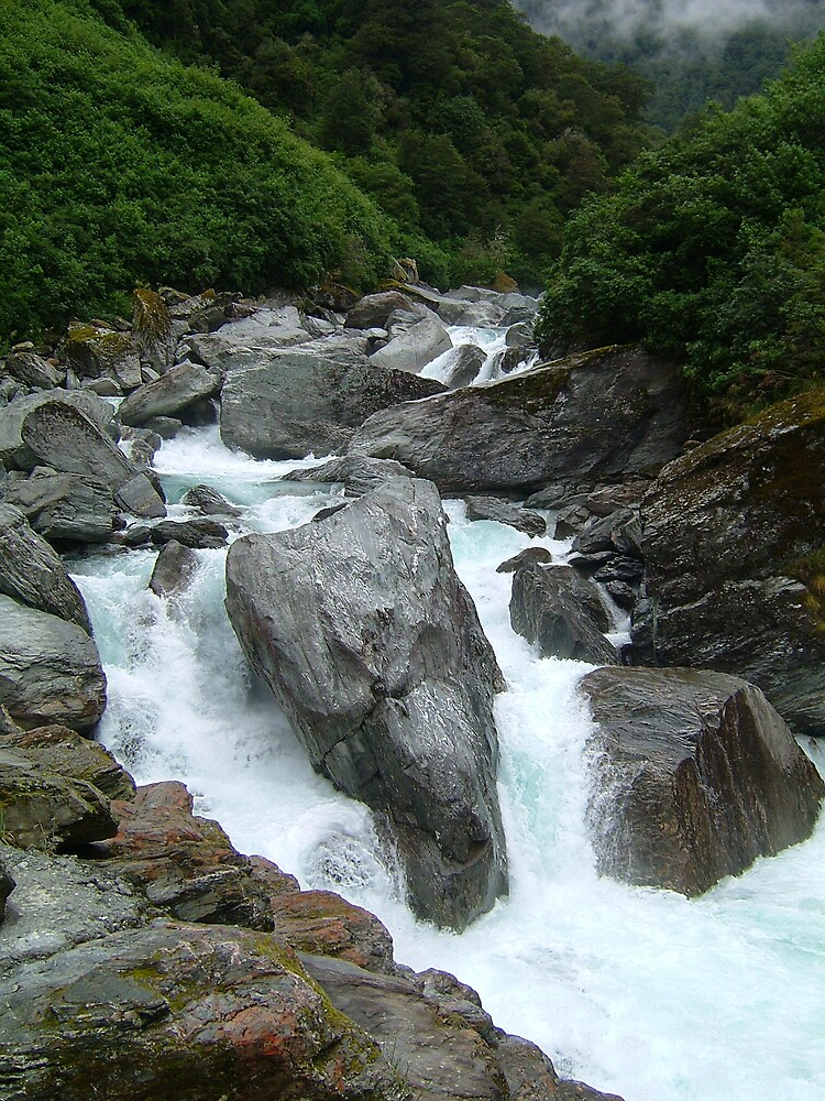 Gates of Haast, NZ by jess974