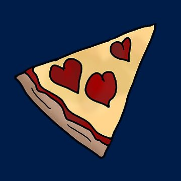 Piece of my heart Matching Pizza Slice by bethcentral