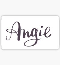 Angie - Personalized Sticker