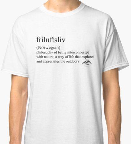 friluftsliv (Norwegian) statement tees & accessories Classic T-Shirt