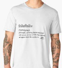 friluftsliv (Norwegian) statement tees & accessories Men's Premium T-Shirt