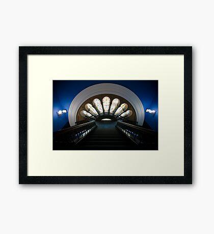 QVB Framed Print