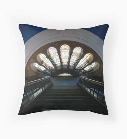 QVB Throw Pillow