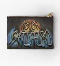 NEVER SATISFIED  Studio Pouch