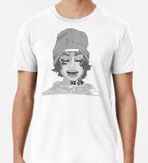 lil xan-black n white Premium T-Shirt