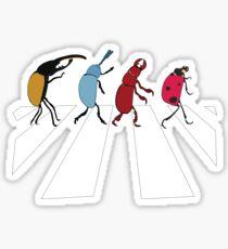 The Beetles Sticker