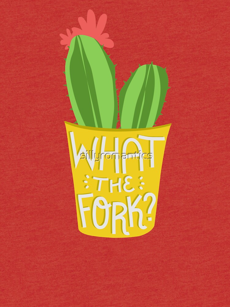what the fork? cactus (The Good Place) by sillyromantics