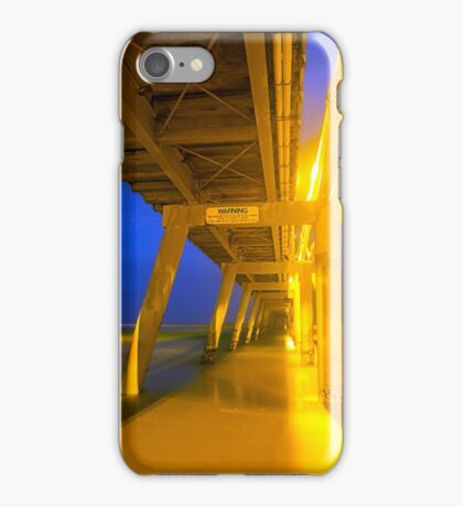 Underneath the Jetty.... iPhone Case/Skin