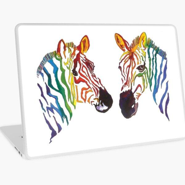Zebra stripe Laptop Skin