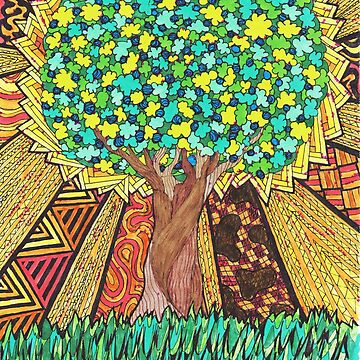 Tree of Life, Good and Evil by agjohnson
