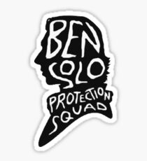 Ben Solo Protection Squad Sticker