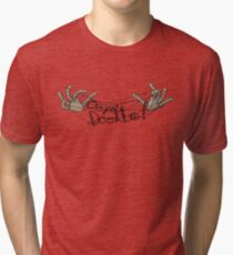 Christmas with Mr. Strings- Oopsie Doodles! Tri-blend T-Shirt