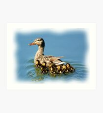 Protected by MOMMA Art Print
