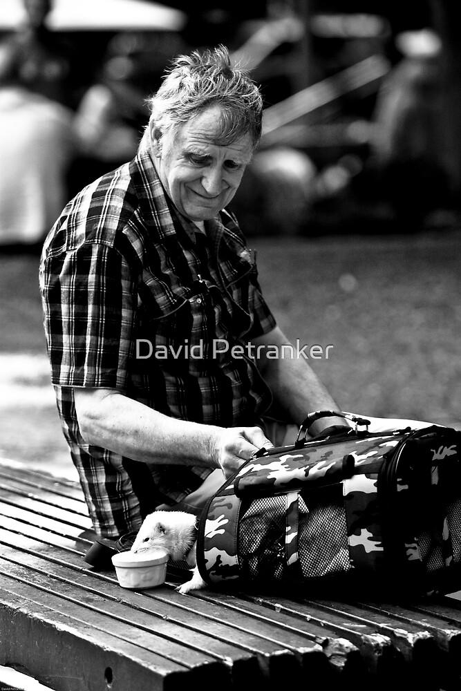 The ferret man by David Petranker