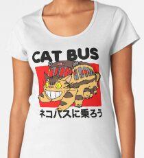 Cat bus Women's Premium T-Shirt