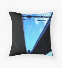 Citylink underbelly #2 Throw Pillow