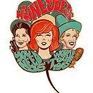 The Honeybees World Tour 1965 by GraficBakeHouse