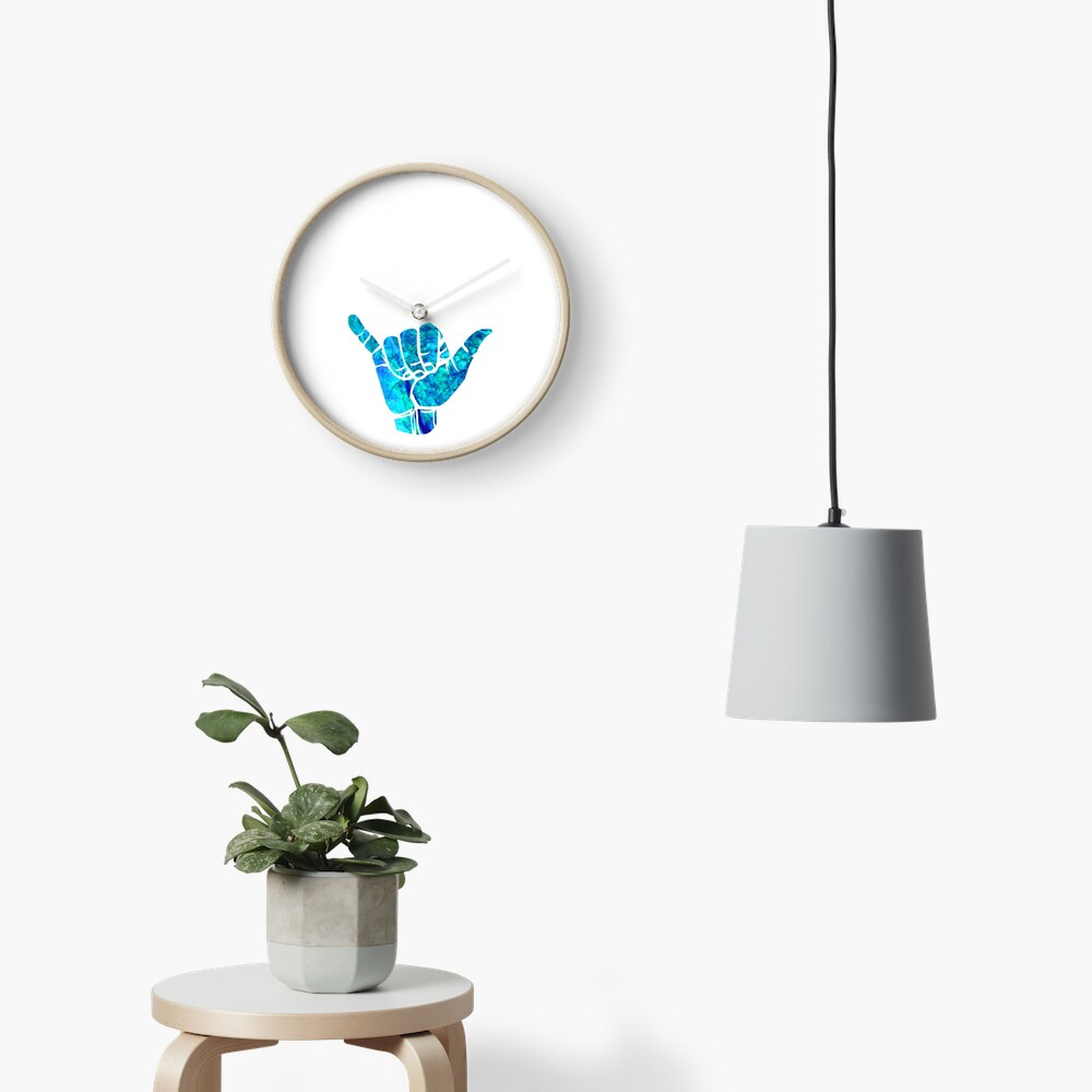 Shaka Ästhetisches Design Uhr