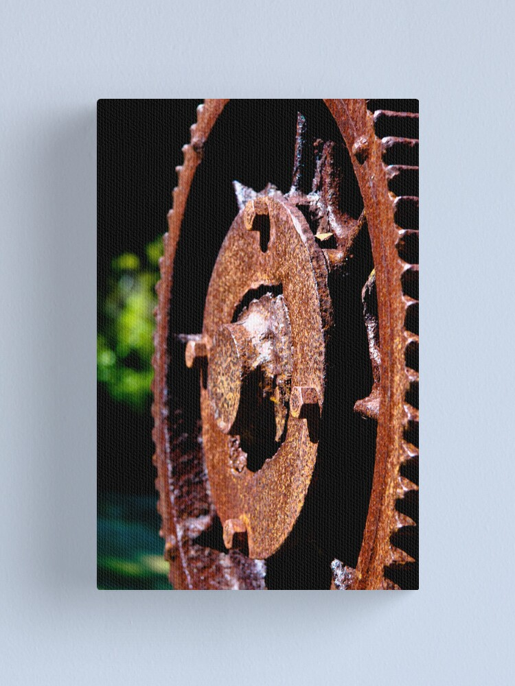 Alternate view of Rusty cog Canvas Print