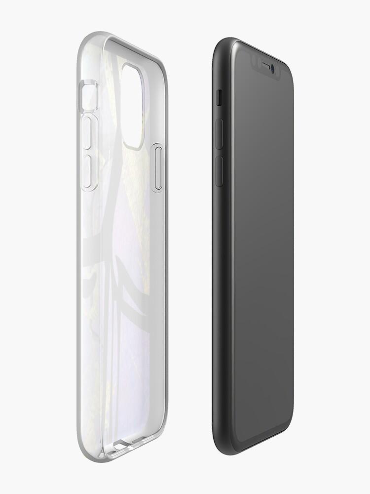 Coque iPhone «Shaka Esthétique», par warddt