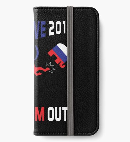 Blue Wave 2018 Kick Them Out iPhone Wallet