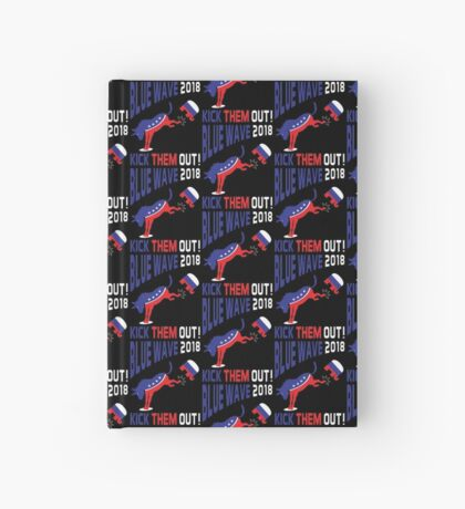Blue Wave 2018 Kick Them Out Hardcover Journal