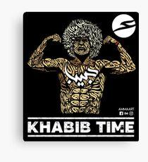 Khabib Time - Original by Ammaart Canvas Print