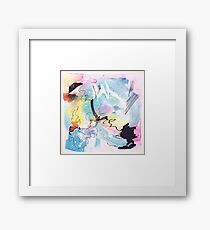Color Twisted #9 Gerahmtes Wandbild