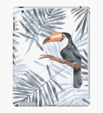 Palm leaves and Toucan iPad Case/Skin