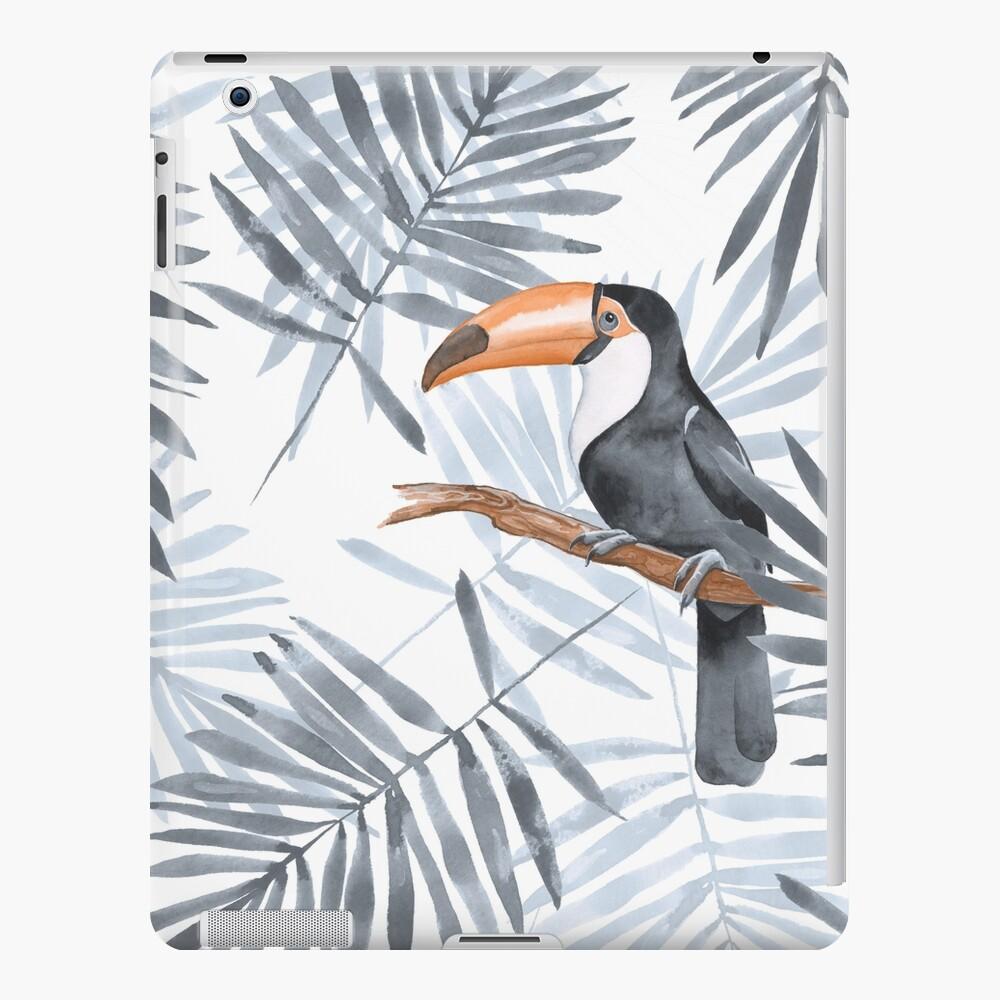 Palmblätter und Toucan iPad-Hülle & Skin