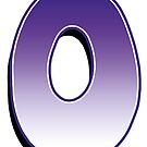 Letter O - Purple by paintcave