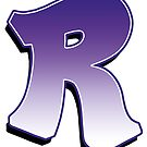 Letter R - Purple by paintcave