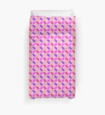60's pink wallpaper Duvet Cover