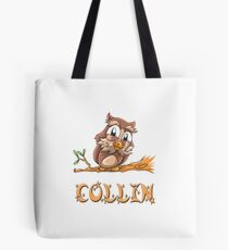 Collin Owl Tote Bag