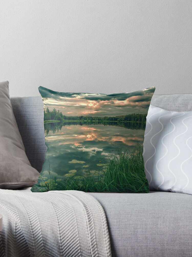 FIRE IN WATER [Throw pillows] by Matti Ollikainen