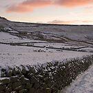 Snow Boundaries by NaturalBritain