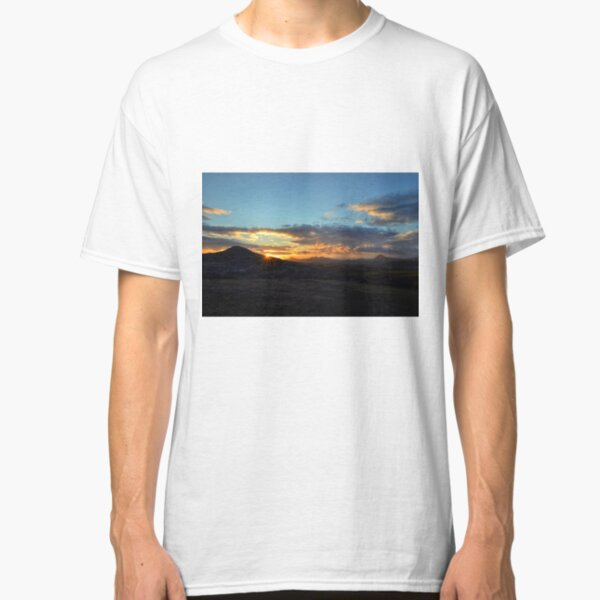 Sunset in the Central Bohemian Uplands Classic T-Shirt