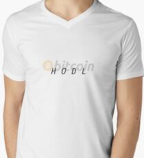Bitcoin Men's V-Neck T-Shirt