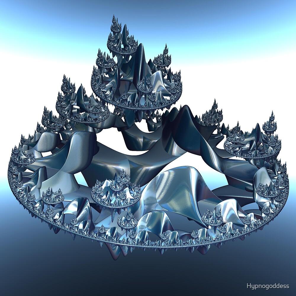 Incendia Blue Metal City by Hypnogoddess