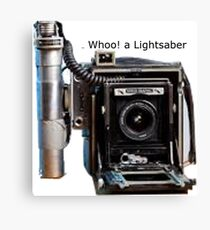 Graflex Lightsaber Canvas Print