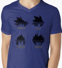 Saiyan Qualities Men's V-Neck T-Shirt