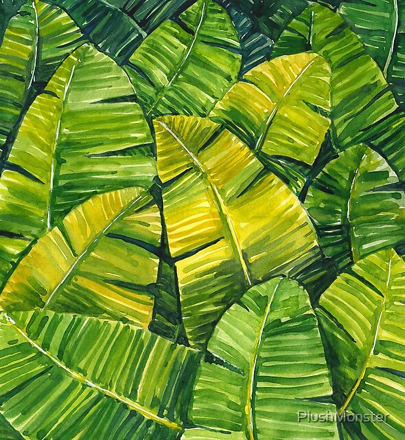 Banana Leaves by PlushMonster