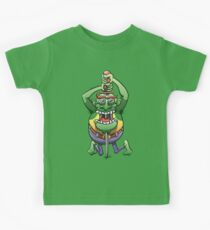 The Awkwardness of the Sword Swallower Kids Tee