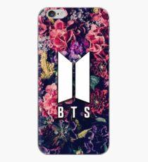 Vinilo o funda para iPhone BTS Flowers Logotipo