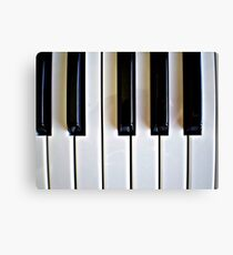 Piano Keyboard Canvas Print
