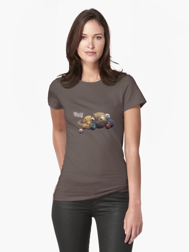 Poor Pluto T-shirt by Mathias Pedersen