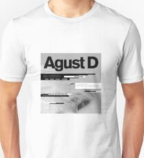 AGUST D Slim Fit T-Shirt